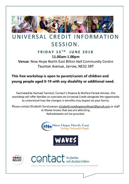 Universal Credit Information Session