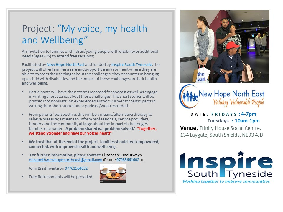 Voice, Health, and Wellbeing Flyer