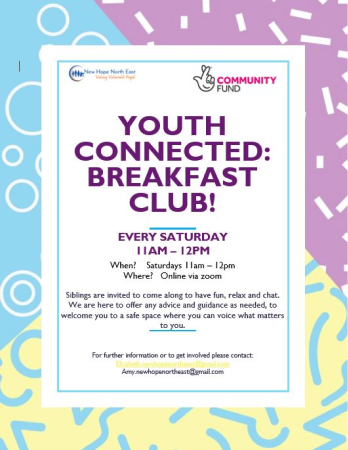Youth Connected: Breakfast Club Flyer
